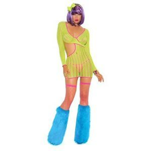 NWT Neon Nites Elegant moments raveware dress